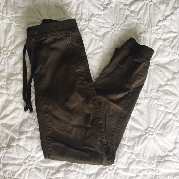 4ababd65d1 Women's Brown Cotton Jogger Pant Stretch. M_5c566adb9fe48690cc000b0b